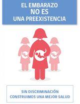 Mandataria anuncia fin del embarazo como preexistencia al contratar un plan privado de salud