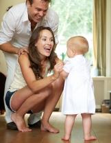 Desarrollo del bebé: ¡caminar!