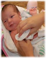 Así es como ve tu rostro una guagua recién nacida