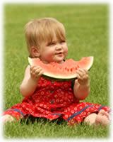Alimentos que tu hijo puede comer con las manos