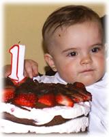 El primer cumpleaños