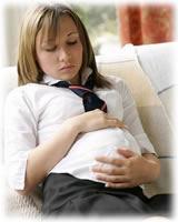 Embarazada adolescente