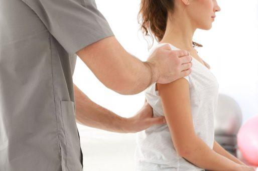Mujer,doctor- Higiene postural