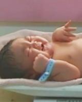 Nace bebé de 7 kilos