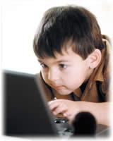 computador niño