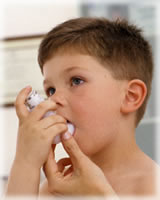 asma niños