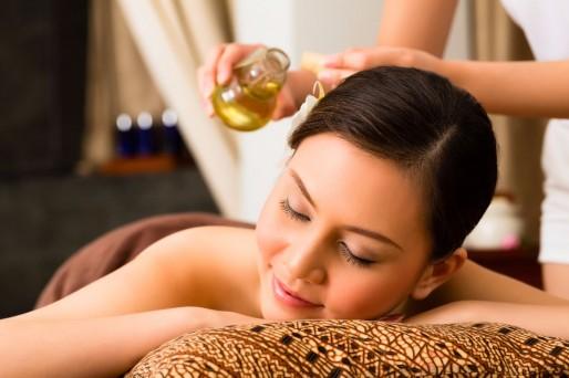 mujer masajes