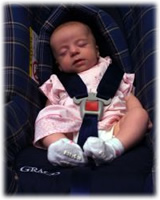 silla auto bebé