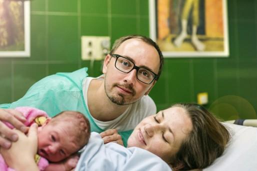 participación del papá en la lactancia