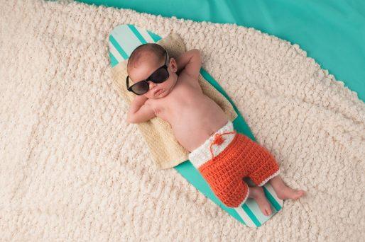 vacaciones con el bebé de 6 meses