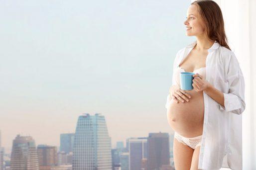 cafe en el embarazo
