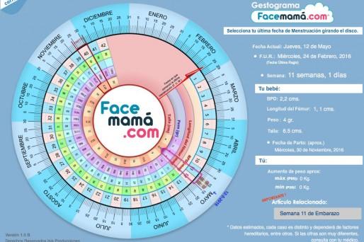 017d1fc7b Calculadora de embarazo  Gestograma - Facemama.com