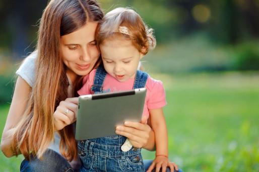 Mama e hija Tablet