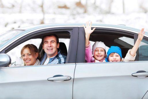 Ideas entretenidas para viajar con los niños en auto