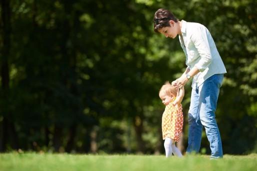 madre con hija, dejar el pañal en 3 días
