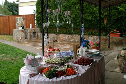 Baby Shower aire libre