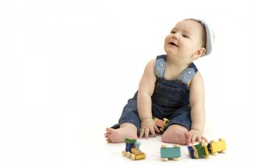 bebé de 11 meses y 2 semanas
