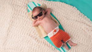 ir de vacaciones con el bebé