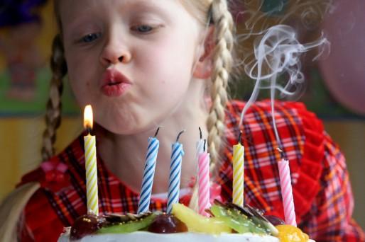 Menú para un cumpleaños saludable