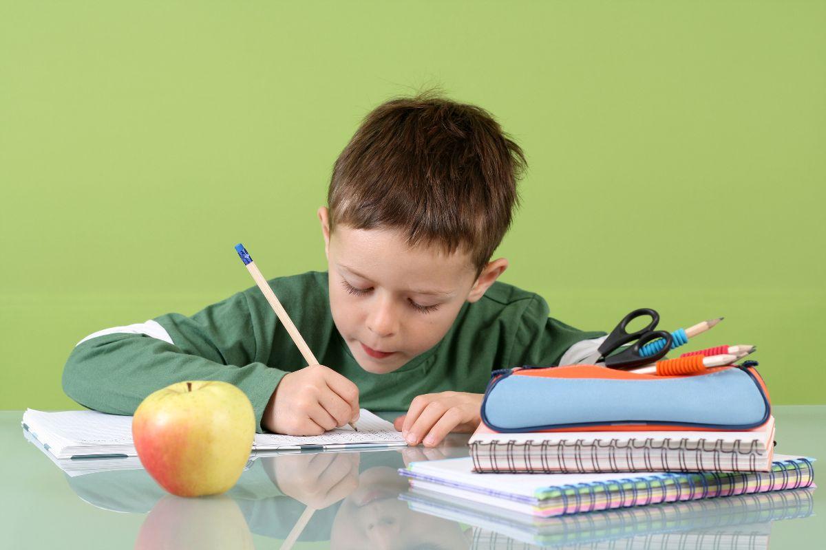 En qué momento debe hacer el niño la tarea escolar