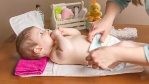 higiene genital del bebé