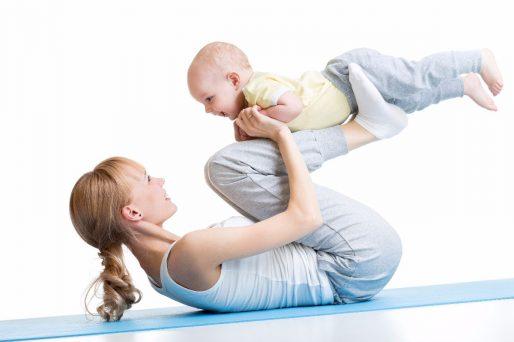 ejercicios para madres en 10 minutos