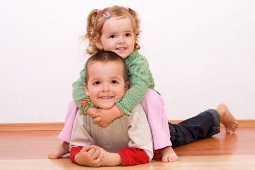 ¿Cómo afecta la diferencia de edad entre hermanos?