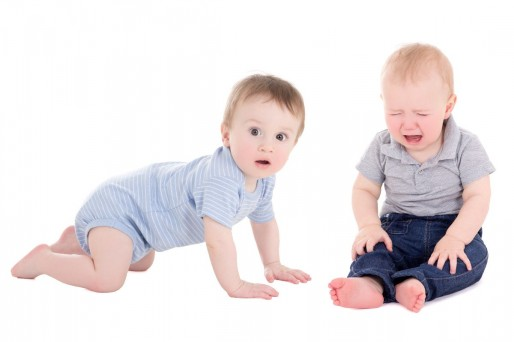 qué hacer cuando el bebé se cae