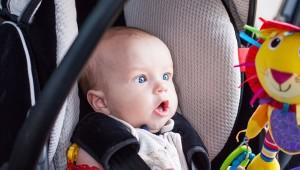 sillas de autos para bebés