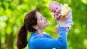llevar al bebé en brazos