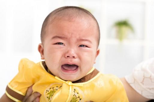 Dolor de oídos bebé
