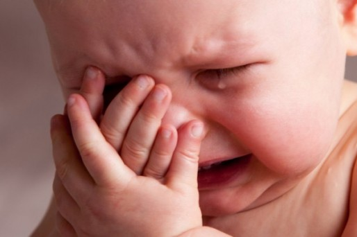 bebe angustia