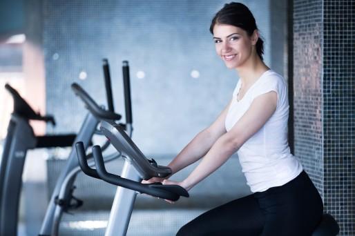 Gym,mujer- Controlar tu peso post 18 en el embarazo
