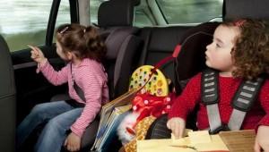 Así ven los niños a sus padres conductores