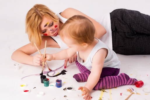No transmitir mensajes negativos a los niños