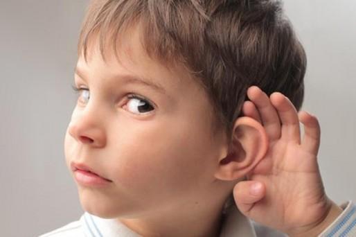 problemas de audición en los niños