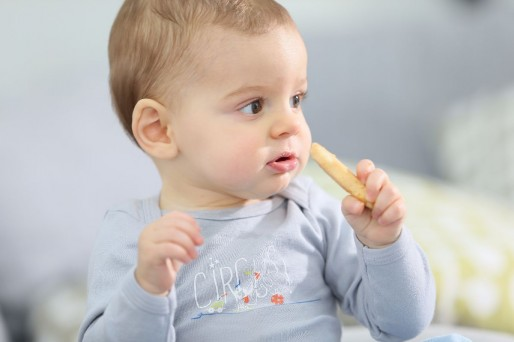 Alimentación para un bebé de 7 meses