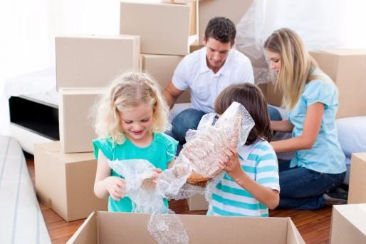 Efectos de las mudanzas en los niños