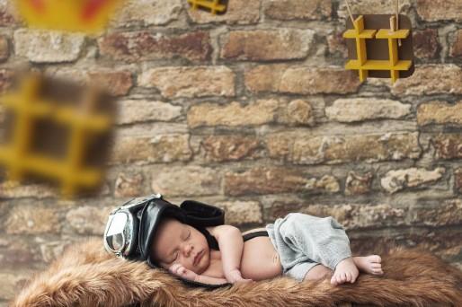 El sueño del bebé del primero al cuarto mes