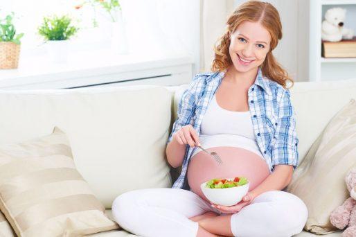 Frutas y vegetales son esenciales durante el embarazo