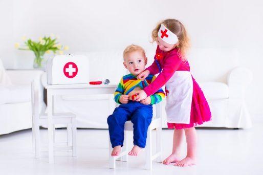 Niños - Primeros pasos del bebé y las escaleras