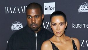 "NEW YORK, NY - SEPTEMBER 09:  Rapper Kanye West and TV personality Kim Kardashian attend the Harper's BAZAAR celebrates ""ICONS By Carine Roitfeld"" at The Plaza Hotel on September 9, 2016 in New York City.  (Photo by Jim Spellman/WireImage)"