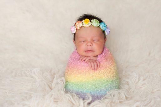 Bebé arcoíris