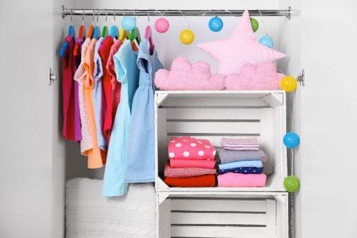 Cómo ordenar el armario de los niños