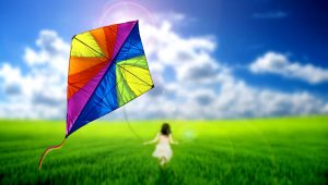 beneficios que trae a los niños volar cometas junto a sus padres