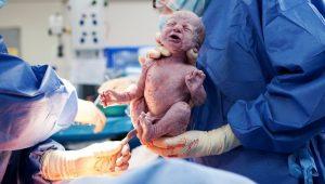 cómo ve un recién nacido