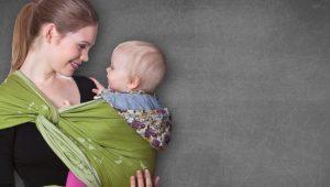 Beneficios del fular portabebés