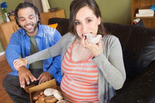 ganar peso durante el embarazo