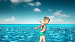 proteger al niño de los golpes de calor