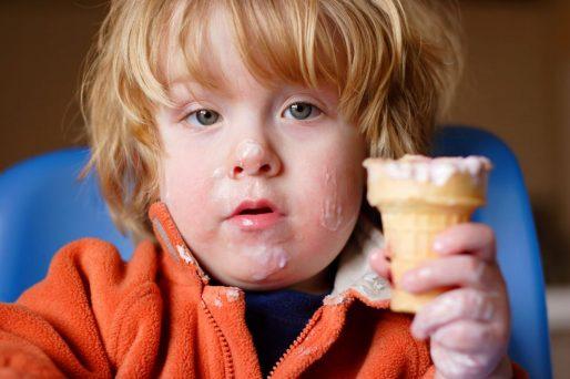 Los lácteos y los niños